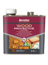 Barrettine wood protector golden brown 2.5L